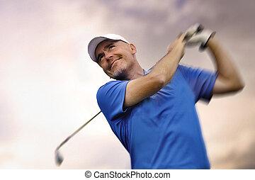 polowanie, bardziej golfowy, golfowa piłka