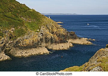 Polperro in the Southeast of Cornwall, Southwest England