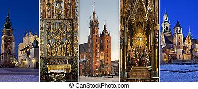 polsko, krakow, -