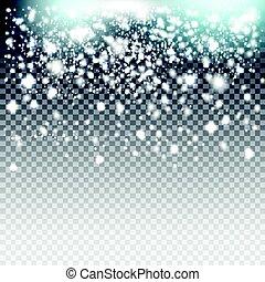 polvere, lusso, struttura, card., blu, trasparente, fondo, ...