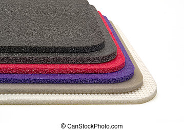 Polyethylene foam multi colour and type material shockproof
