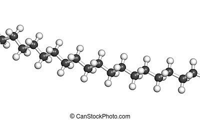 Polyethylene (PE, polythene, polyethene) plastic, chemical...