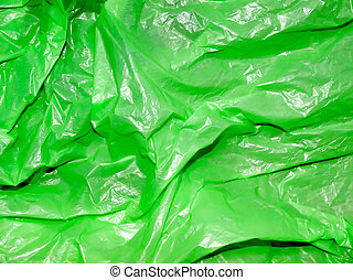 polyethylene., zöld