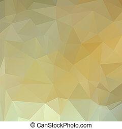 polygon background white gold
