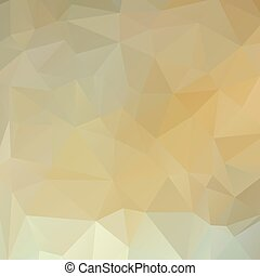 polygon background white gold - Abstract polygonal...