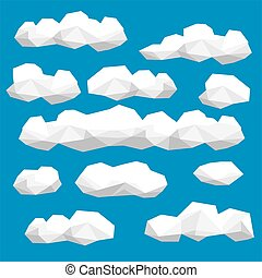 Polygon cloud collection