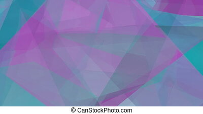Polygon Landscape Abstract as a Graphic Design Element