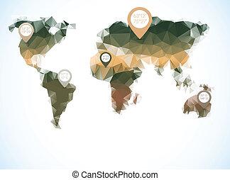 polygonal, κόσμοs , ρυθμός , χάρτηs