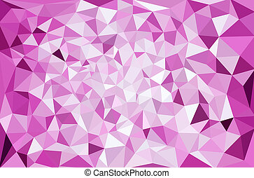 polygonal, モザイク, 背景