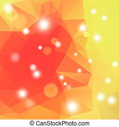 polygonal, 幾何學, 摘要, 背景