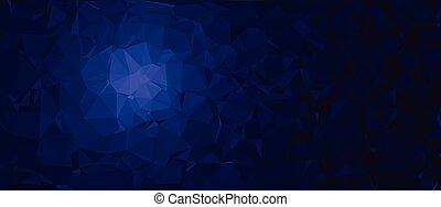 polygonal, 抽象的, ベクトル, 背景