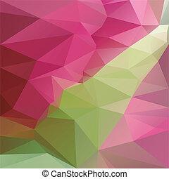polygonal, 抽象的, 背景