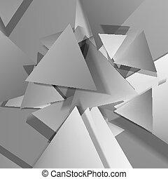 polygonal, 材料, デザイン