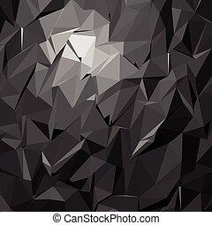 polygonal, 모자이크, 배경, 벡터, 삽화, 사업, 디자인 템플렛