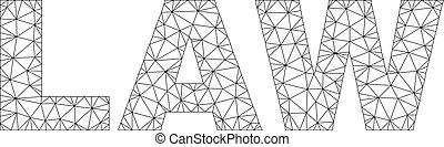 Polygonal 2D LAW Text Label