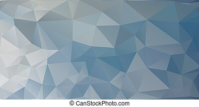 polygonal abstract blue background