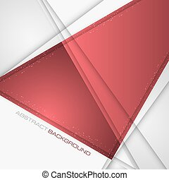 polygonal, abstract, shapes., achtergrond, vector