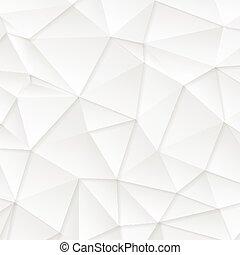 polygonal, abstract, technologie, grijze , achtergrond