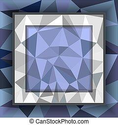 polygonal, abstrakcyjny, tło