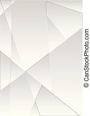 polygonal, abstrakt, technologie, grau, hintergrund