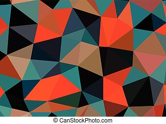 Polygonal Background - Vector Pattern