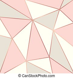 Rose Gold Vector Background With Lighting Metallic Pink Gold