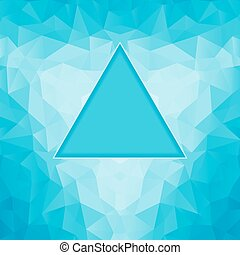 polygonal blue background
