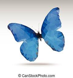 polygonal butterfly