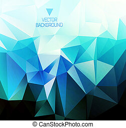 polygonal design / Abstract geometrical background ?an be...