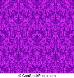 polygonal, design, muster, seamless, dreieckig, blume, hintergrund
