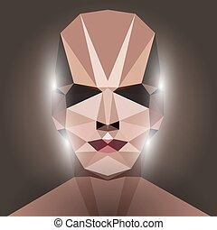 polygonal face in 3d