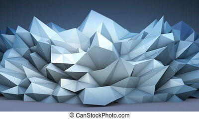 polygonal, forme abstraite