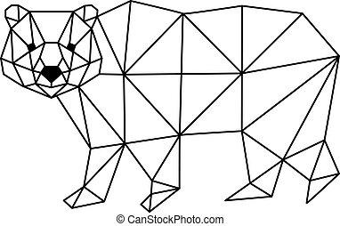 polygonal fox