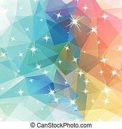polygonal, géométrie, résumé