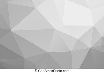 Polygonal geometric abstract textured background greyscale