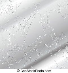 Polygonal geometric background