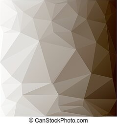 Polygonal geometric surface. Abstract triangle background in grey colors.