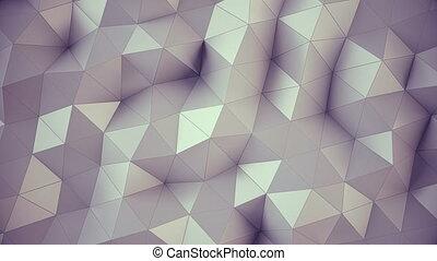 Polygonal geometric surface background.