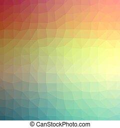 polygonal, hintergrund