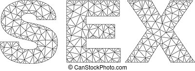 Polygonal Mesh Text Caption