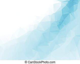 polygonal mosaic background, Vector illustration, Business ...