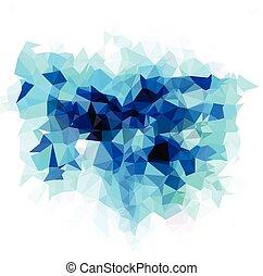 polygonal, mosaico, fondo, vettore, illustrazione, affari, disegnare sagome