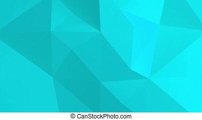 polygonal, résumé, pattern., fond, 3d