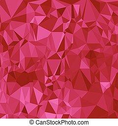 polygonal, różowy, abstrakcyjny, tło