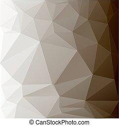 polygonal, superficie, geometrico