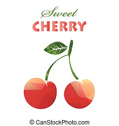 polygonal sweet cherry