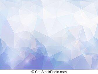 polygonal, tło., abstrakcyjny, wektor, eps10.
