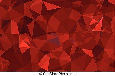 polygonal, tło., abstrakcyjny, wektor, nowoczesny