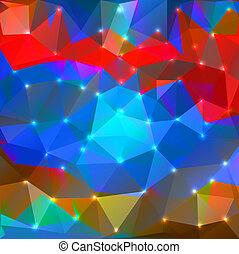 polygonal, tło