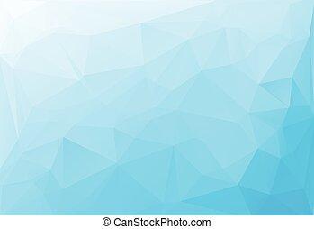 polygonal, vector, achtergrond, voorbeelden, witte , mozaïek, blauwe , creatief, lichte zaak, ontwerp, illustratie